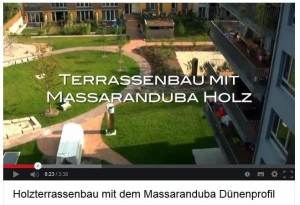 Video-Terrassenbau Massaranduba.