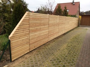 gartenzaun selber bauen diy do it yourself, Moderne